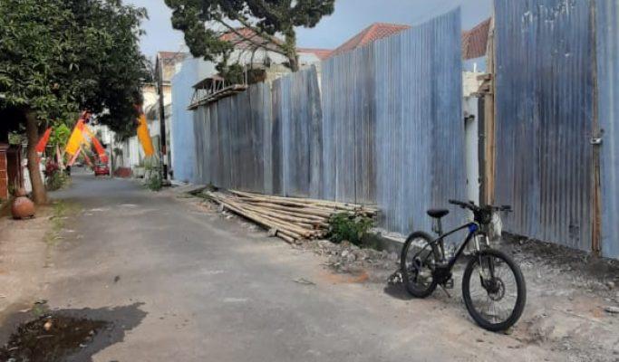 Tanah Luas 214 Meter Dijual Cocok Buat Kost Kostan Dekat Kampus Brawijaya di Candi Mendut Barat Sukarno Hatta Malang