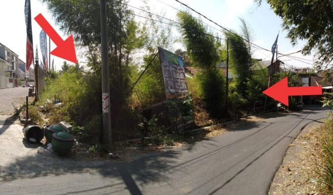 Tanah Dijual Luas 641 Meter di Poros Jalan Mojoasri Mojorejo Kecamatan Junrejo Kota Batu