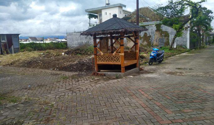 Tanah Kavling Pojok Siap Bangun Dijual Luas 338 Meter di Borobudur Agung Barat Malang